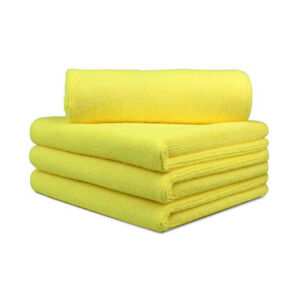 4 Extra Large 16x24 Microfiber Towel Scratch Free Car Wash Drying Cleaning Clot
