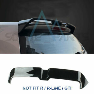 Rear Tailgate Roof Lip Top Spoiler R Line Type Fit For Vw Golf Mk7 2015 2018