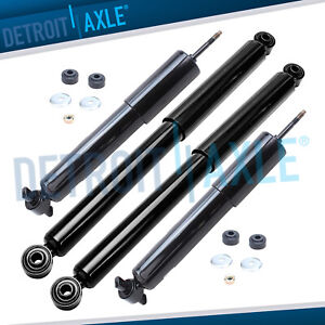 2wd 1999 2003 2004 2005 2006 Silverado Sierra 1500 Front Rear Shocks Absorbers
