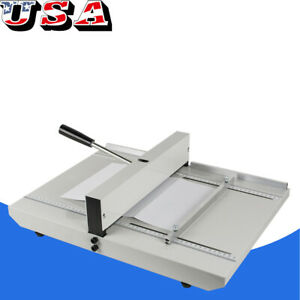 Manual Paper Creaser Creasing Machine 350mm A4 Card Covers High Gloss Covers Ce