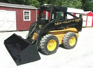 1999 New Holland Lx865 Skid Steer With 3155 Hrs Can Ship For 1 85 Loaded Mile