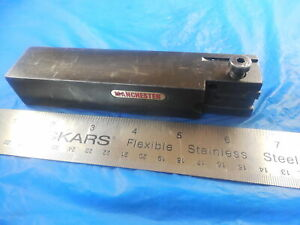 Manchester Groove Cut Off Lathe Turning Tool Holder 1 X 1 1 4 Square Shank Cnc
