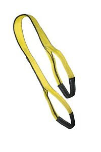 1 X 12 Ft Nylon Polyester Web Lifting Sling Tow Strap 2 Ply Ee2 901 Eye Eye