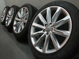 19 Inch Winter Wheels Original Audi A7 S7 4g Winter Tyre 4g8601025k c38