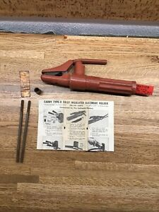 Caddy Type B 30 Welding Electrode Holder 300 500 Amp Made In Usa G3