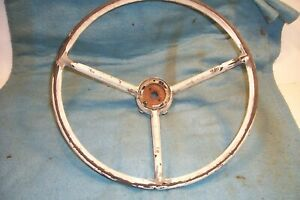 1960 63 Ford Falcon 1961 70 F100 Truck Steering Wheel Restoration Started