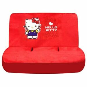Tricot Hello Kitty Back Seat Cover For Foldable Back Seat