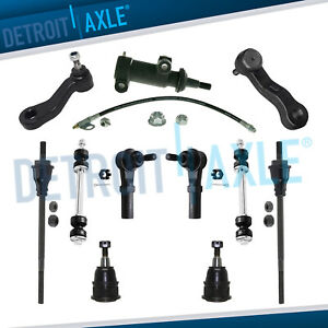 11pc Front Sway Bar Tierod Pitman Idler Arm Kit Express Gmc Savana 2500 3500