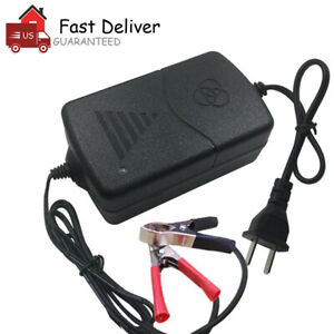 Car Battery Charger Maintainer Auto 12v Trickle Rv For Truck Motorcycle Atv Us