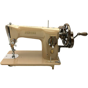 Singer 201 201k Hand Crank Sewing Machine Serviced Restored By 3fters
