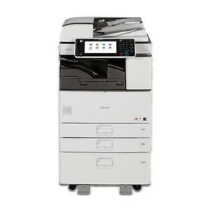 56 month Only Ricoh Mp 3353 Monochrome Multifunction Photocopier 11x17 Reposses