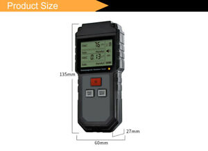 Electromagnetic Radiation Detector Field Shielding Protection Emf Tester Digital