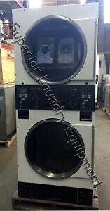 Speed Queen St0300drg Stack Dryer 30lb Coin 120v Gas Reconditioned