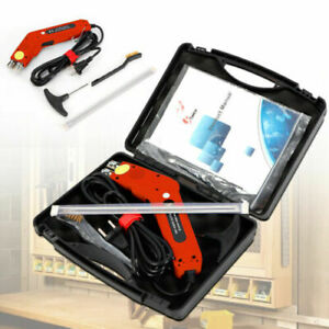 250w Electric Portable Durable Hot Knife Heating Cutter Tool Foam With Case Usa
