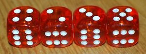 Dudds Dice Orange Gems W White Dots Valve Stem Caps 4 Pack 31