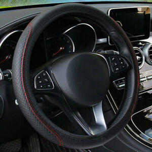 Cars 15 Inch Leather Diy Car Steering Wheel Cover Universal Accessories Cover