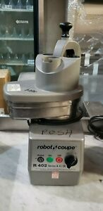 Robot Coupe R402 Food Processor With 4 5 Qt Stainless Steel Bowl 2hp Posh 35