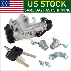 Ignition Switch Cylinder Door Lock For 03 11 Honda Accord Crv Fit Civic Odyssey