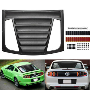 Rear Window Louver Sun Shade Installation Accessories For 2005 2014 Ford Mustang