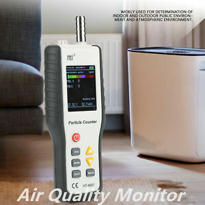 Hti Ht9600 Pm2 5 Detector Analyzer Dust Air Quality Monitor Particle Counter