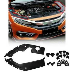 Auto Engine Cover Leaf Plate Cover For Honda 10th Gen Civic 2016 2017 2018 2019