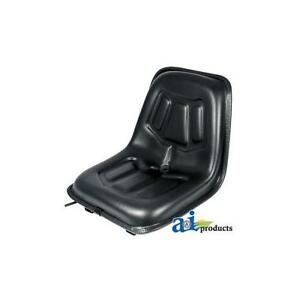 Lgs100bl Universal Seat W Slide Track For Riding Mowers Compact Tractors