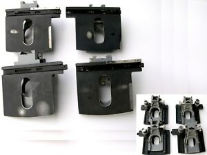 Lot Of 4 Ao American Optical Microscope 10 20 Series Xy Mechanical Stage