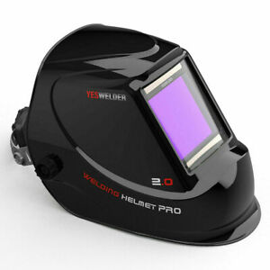 Wide View Auto Darkening Welding Helmet True Color Weld Mask Hood Arc Tig Mig