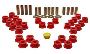 Energy Suspension 11 3106r Control Arm Bushing Set Fits 90 05 Miata