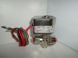 new Asco Ftx8267a01505439csa 1 2 Solenoid Valve 24vac Steam 15psi