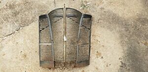 1940 Ford Deluxe Grille Assembly Side Vent Panels 01a 16140 01a 16141 01a 8206 d