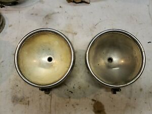 Original 1930 1931 Ford Model A Headlights Twolite Headlamps 2