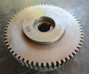 Logan 14 Lathe 60 Tooth Safety Gear With 5 8 Arbor Free Shipping