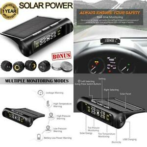 Aftermarket Tire Pressure Monitoring System Tpms Solar Power Universal Wireless
