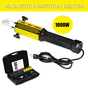 Magnetic Induction Heater Kit Flameless Safe Auto Repairing Tool Screw Nut 1000w