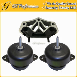 Quality Hydraulic Engine Trans Mount 3pcs For 11 15 Ford Mustang 3 7l 5 0l