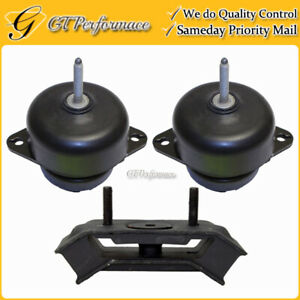 Quality Hydraulic Engine Trans Mount 3pcs For Ford Mustang 4 0l 5 4l 5 8l