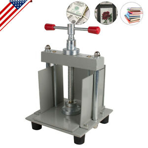 Us A4 Size Manual Flat Paper Press Machine For Invoices Checks Nipping Machine