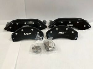 Mgp Disc Brake Caliper Covers Fits 2015 19 Gmc Canyon In Black