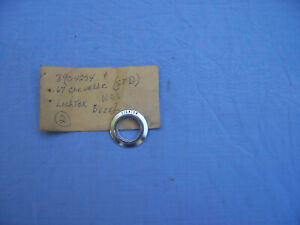 Nos 1967 Chevelle Cigarette Lighter Dash Bezel Standard Models 3904234