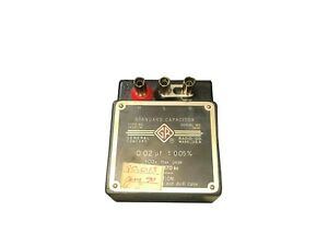 General Radio Standard Capacitor Type No 1409 m