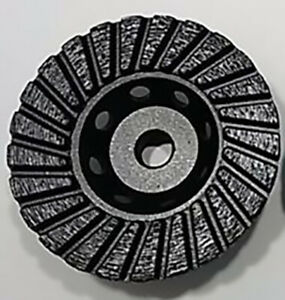 4 Diamond Cup Wheel Turbo 5 8 11 Thread Coarse Grit Grinding All Natural Stone