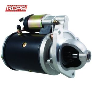 New Ford New Holland Diesel Tractor Starter 2000 3000 4000 5000 7000 8000 9000