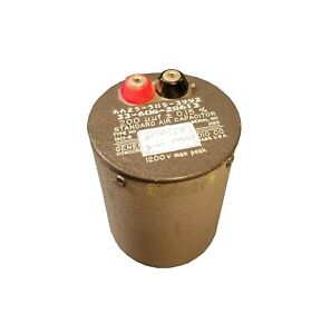 General Radio 1401 b 200uuf 0 15 Standard Air Capacitor