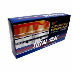 Total Seal Csh9010 5 Piston Rings Steel 4 125 Bore 3 0mm Thickness 8 cylinder