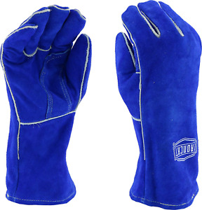 West Chester Ironcat 9050 Premium Split Cowhide Leather Stick Welding Gloves 12