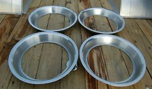 Ford 14 Stainlesssteel Vintage Beauty Glamour Band Rings 72 Torino Set Of 4