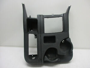 03 05 Dodge Ram 2500 3500 6 Speed 4x4 Floor Console Shifter Cupholder Grey