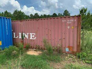 20ft High Cube k line Steel Shipping Container Ocean Container 40ft Long