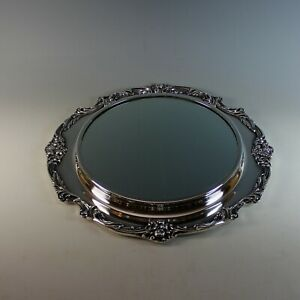 Reed Barton Silverplate Mirror Plateau King Francis